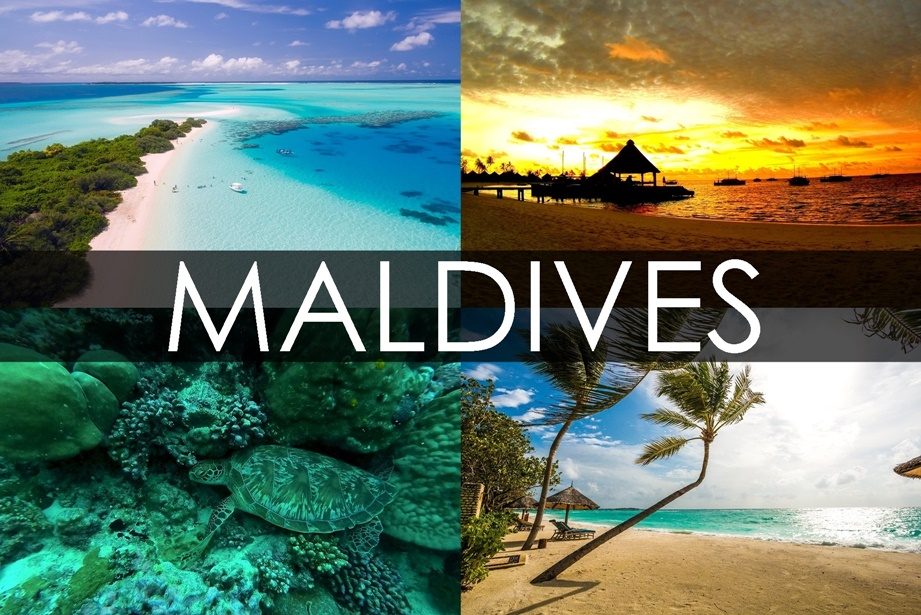 Tropical Island Beach Ambience Sound: Maldives Honeymoon Destinations